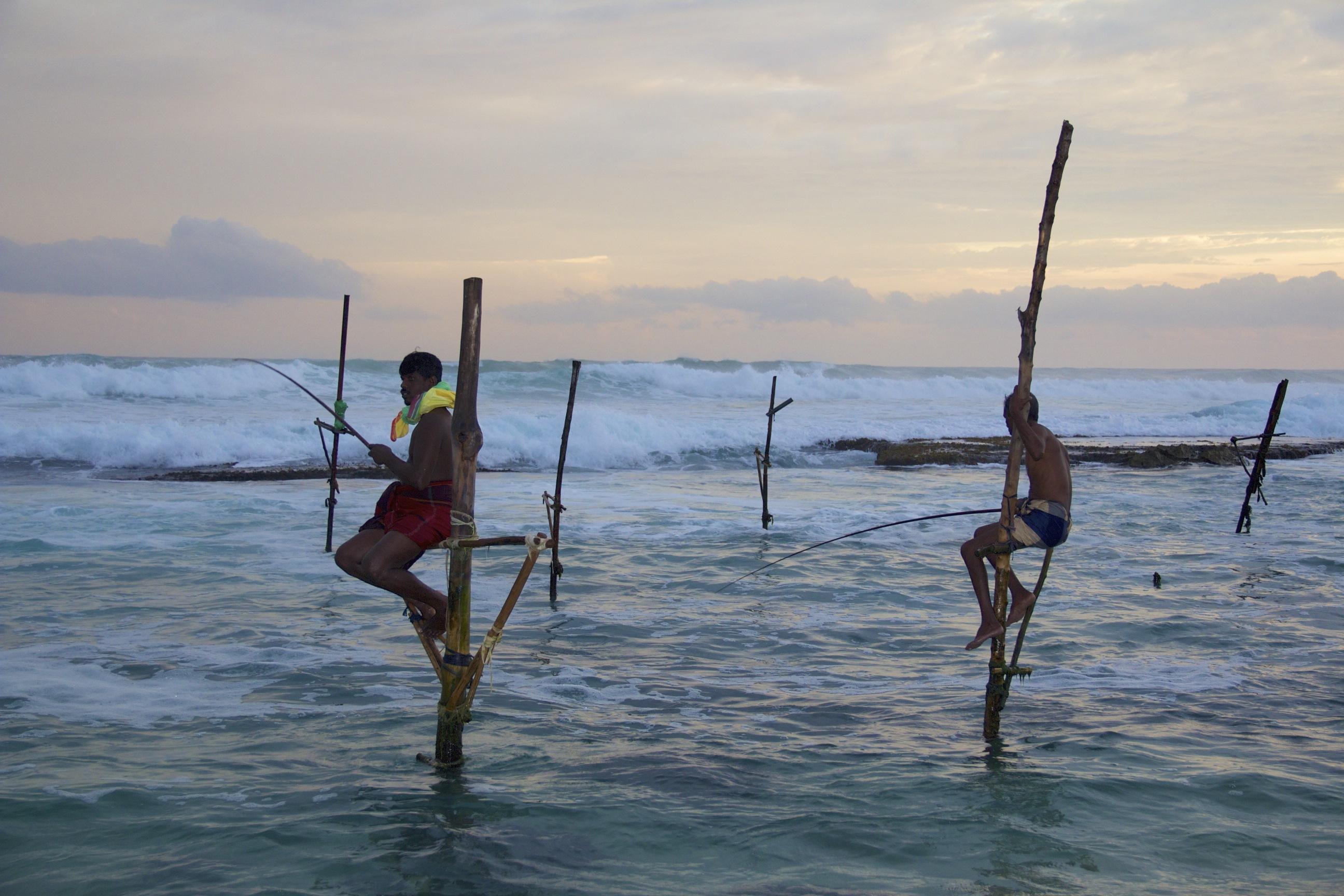 Stilt Fishermen@SriLanka-2014-05-04