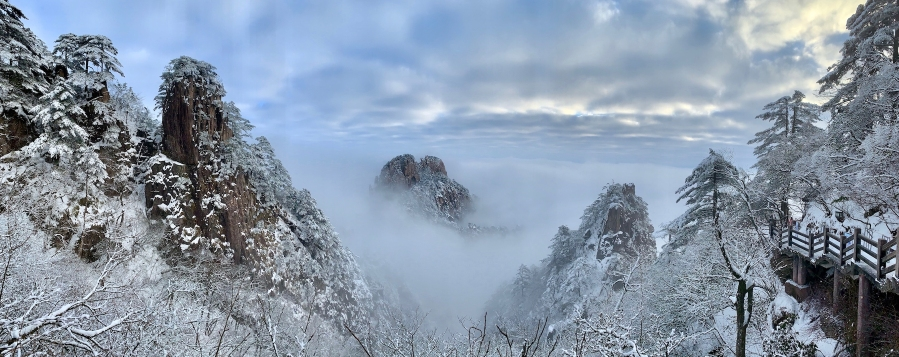NEW YEAR'S EVE MT.HUANGSHAN